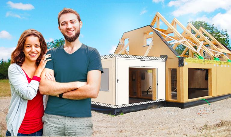 Ossature bois maison autoconstruction